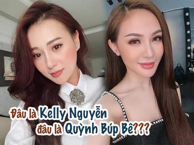 Ngớ người trước hình selfie của Quỳnh Búp Bê, dân tình tự hỏi đây là Quỳnh hay Kelly Nguyễn