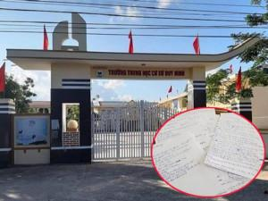 """Cô giáo bắt học sinh tát bạn 231 cái ở Quảng Bình: Nhà trường buộc học sinh """"viết lời khai"""""""