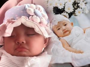 Con gái Khánh Thi - Phan Hiển: Chỉ là mếu thôi, có nhất thiết phải đáng yêu như vậy không!