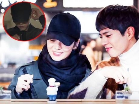 """Phát hiện thú vị: Song Hye Kyo """"trộm"""" mũ ông xã đi hẹn hò cùng """"tình trẻ"""""""