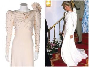 Chuyện khó tin về chiếc đầm của công nương Diana: đồ sida trước khi được đấu giá bạc tỷ