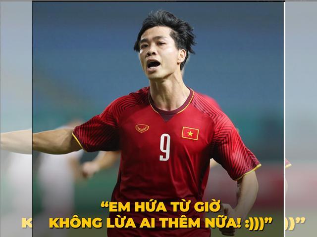 Việt Nam thắng Philippines 2-1: Sau tất cả, Công Phượng đã không lừa chúng ta!