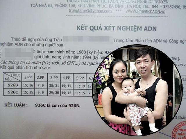 Những ông bố showbiz Việt giấu công chúng đi xét nghiệm ADN và cái kết câm nín