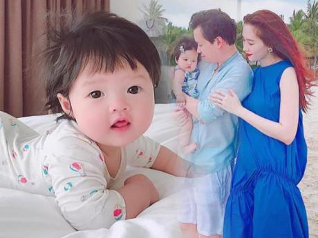 Hoa hậu Đặng Thu Thảo bật mí loạt thói quen đáng yêu của con gái 8 tháng tuổi