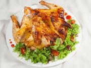 Bếp Eva - Gà nướng ngon với bí quyết ướp gà từ muối ớt, mật ong