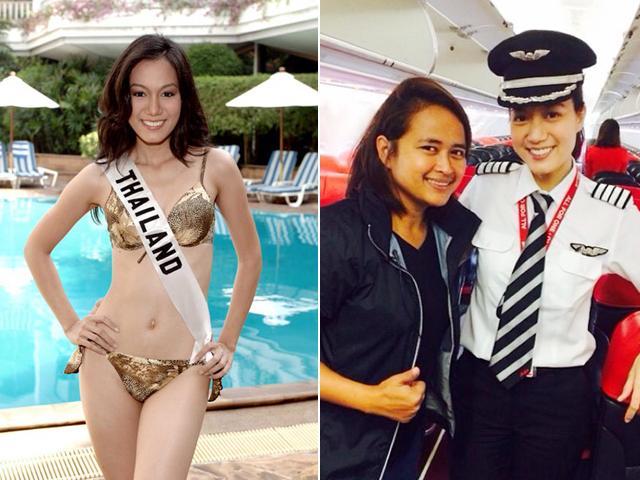 Sự thật bất ngờ về nữ cơ trưởng xinh đẹp nhất Thái Lan đang gây sốt