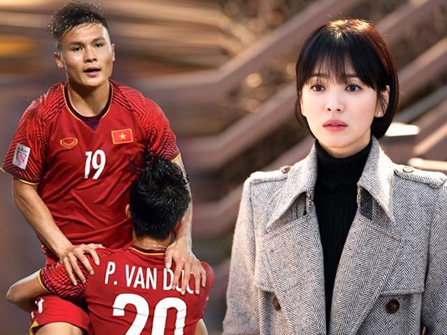 Số nhọ gặp phải Bóng đá Việt Nam, nữ thần Song Hye Kyo bị hạ bệ ngay trên đất Hàn
