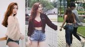 Bạn gái tin đồn của Bùi Tiến Dũng lớn tuổi hơn, mặt baby và mê diện quần siêu ngắn