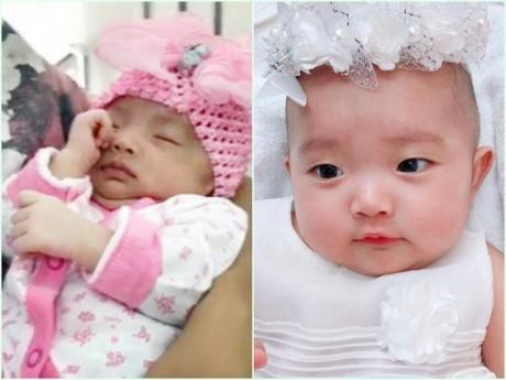 Sinh non 1,9kg, cân nặng hiện tại của con gái Khánh Thi chắc khiến nhiều mẹ bất ngờ