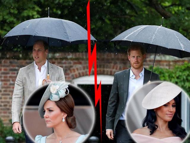Chị dâu - em dâu xích mích: Hoàng tử William và Harry chẳng thèm nhìn mặt nhau