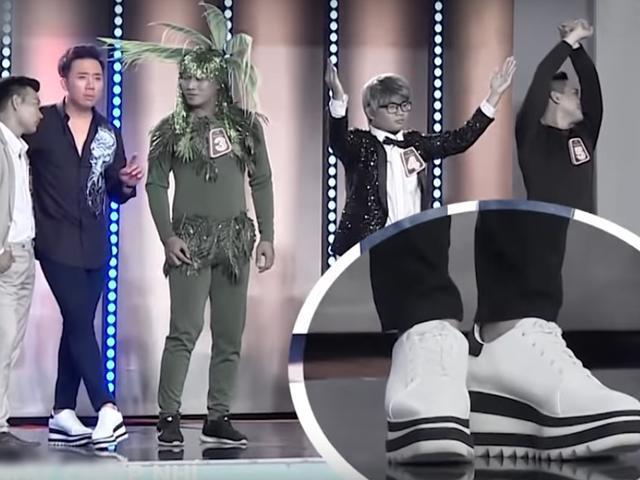 Can tội chê người khác lùn, MC Trấn Thành bị tố mang giày độn giữa sóng truyền hình