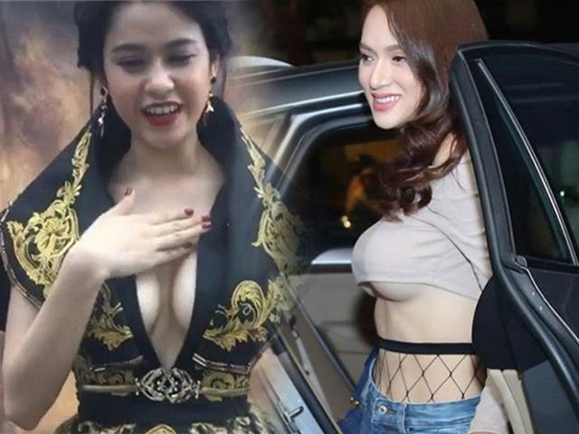 Mặc kệ ai lên án, ngày càng nhiều sao Việt bất chấp với phong cách ngực nhảy ra ngoài!