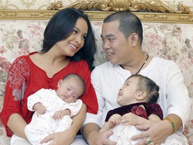 Những gia đình sao Việt sinh 2 con gái, giờ ngồi trên chĩnh vàng, là đại gia triệu đô ngầm