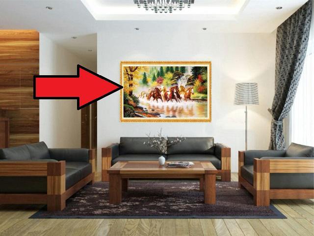 8 loại tranh có đắt xắt ra miếng cũng cấm tiệt treo phòng khách kẻo làm ăn lụi bại