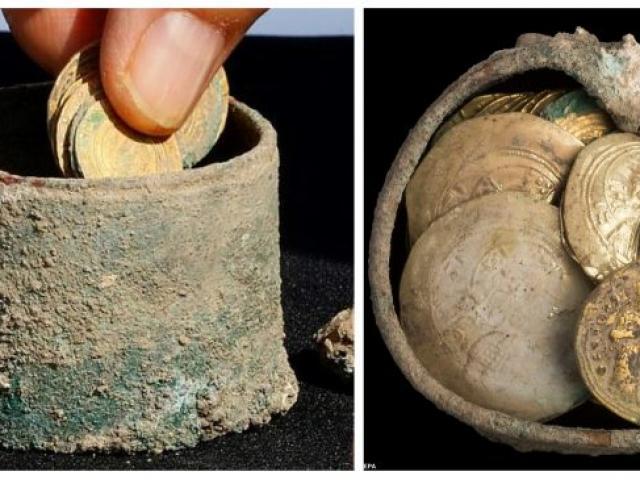 Sốc độc lạ: Phát hiện hũ tiền vàng 900 năm tuổi, bằng thu nhập cả năm của người bình thường