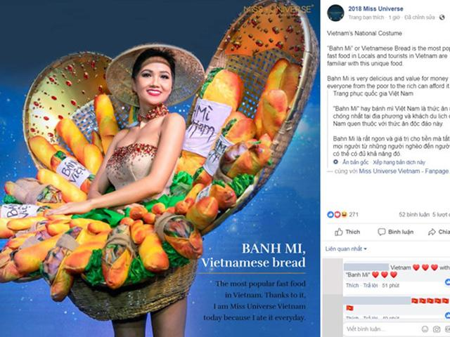 Bị chê tơi tả nhưng Bánh Mì của HHen Niê đã lọt Top 4 trang phục hấp dẫn nhất