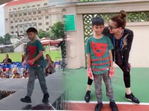 Hồ Ngọc Hà và chồng cũ Cường Đôla cùng tự hào khi con trai trổ tài catwalk cực siêu