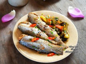 Trời lạnh tái tê làm ngay nồi cá đối kho dưa đưa cơm phải biết