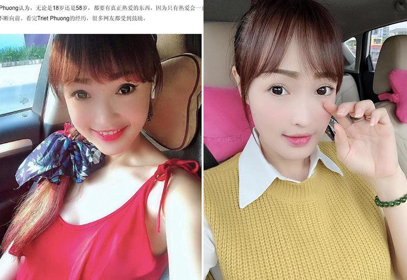 Khi gặp Triết Phương hầu như không ai đoán được 'danh tính thực sự' của chị - rất nhiều trang báo Trung Quốc đã mở lời như vậy khi đăng tin về một bà mẹ U40 ở Việt Nam.