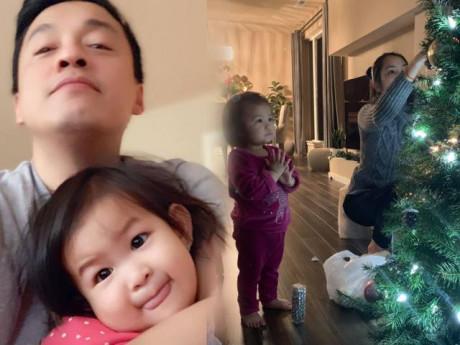 Lam Trường tiếp tục chứng minh tình cảm với vợ con, biểu cảm của con gái mới gây chú ý