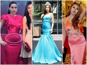 Loại váy hễ mặc là thành bà bầu, không tin thì nhìn Đỗ Mỹ Linh và loạt mỹ nhân này!