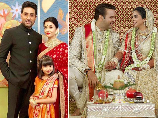 Hoa hậu đẹp nhất mọi thời đại mang chồng con tới đám cưới ái nữ giàu nhất Châu Á