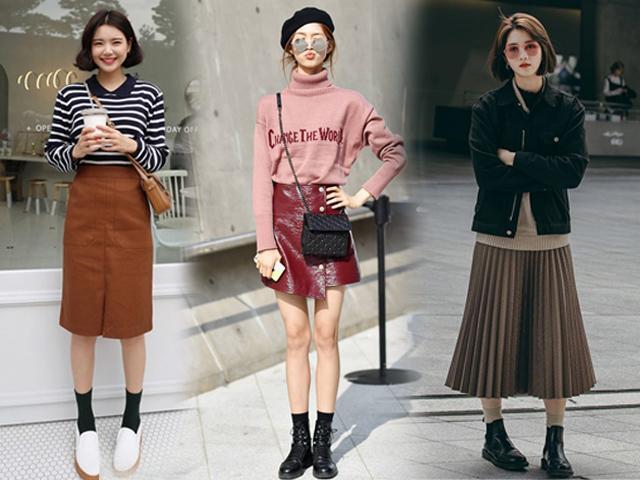 Người yêu không có nhưng nhất định phải có 4 kiểu chân váy này cho mùa đông không lạnh