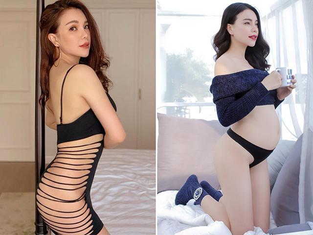 Những sao Việt mang bầu bí ẩn nhất, Trà Ngọc Hằng không là gì so với cao thủ số 4