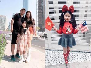 Choáng: Hoa hậu nhí Malaysia 2017 lai Việt Nam, mẹ Việt kể chuyện oái oăm khi cổ vũ  AFF Cup