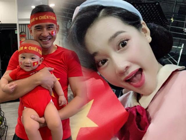 Sao Việt sung sướng khi tuyển Việt Nam vô địch AFF Cup: Đức Phúc phất cờ, Elly Trần đi bão