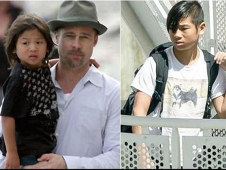"""Ngôi sao 24/7: Pax Thiên bị Brad Pitt """"ghét"""" khi Angelina Jolie muốn nhận nuôi cậu bé?"""