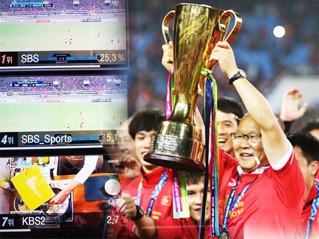 Đài Truyền hình Hàn ăn to vì Việt Nam vô địch, hoãn chiếu phim quả là sáng suốt!