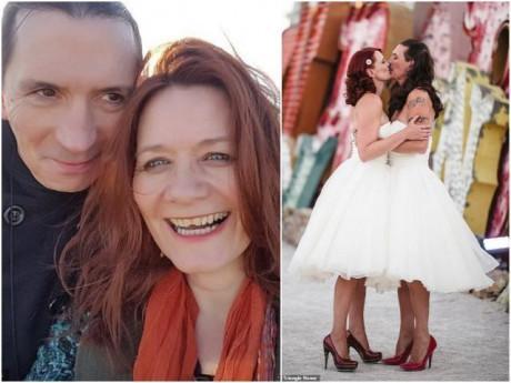 Chuyện lạ: Chú rể cao to nằng nặc đòi mặc váy cưới giống vợ và cái kết không đỡ nổi