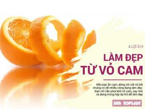 """Đừng vứt vỏ cam đi, """"thần dược"""" dưỡng da của các chị em đấy"""