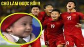 Nghẹn lòng: Vì sao vừa đăng quang, Quang Hải, Văn Hậu, Tiến Dũng nhớ đến 1 cậu bé đặc biệt?