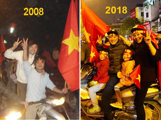 Bức ảnh truyền cảm hứng nghìn like: 10 năm bên nhau, 2 chiếc cúp AFF và quân số thêm 3