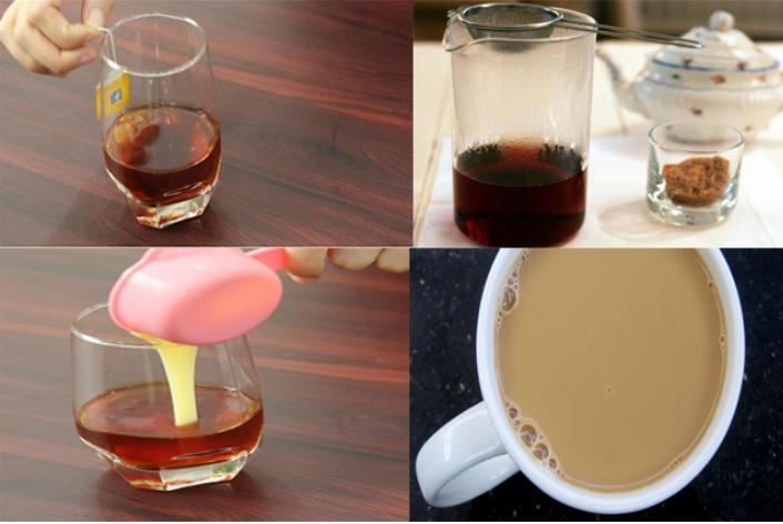 Các bước thực hiện pha trà sữa - 1
