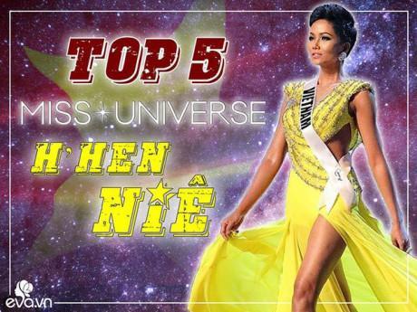Thời trang - Chết lặng vì khoảnh khắc H'Hen Niê lập kỷ lục cho nhan sắc Việt tại MU 2018: TOP 5!