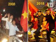 """Làm mẹ - Bức ảnh truyền cảm hứng """"nghìn like"""": 10 năm bên nhau, 2 chiếc cúp AFF và quân số thêm 3"""