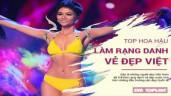 Top những nàng hậu nâng tầm nhan sắc Việt trên sân khấu quốc tế