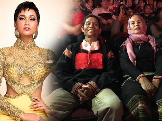 Từ HHHV Việt Nam đến HHHV 2018, bố mẹ cô hoa hậu ấy vẫn diện bộ trang phục Ê-đê