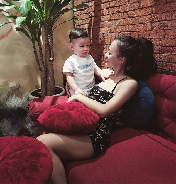 """Vóc dáng """"bốc lửa"""" sau sinh quý tử của nữ DJ Hà Thành vừa tuyên bố ly hôn chồng - 17"""