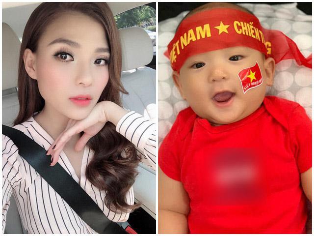 Bất chấp bố chồng cấm cản, bà xã Lương Thế Thành vẫn làm điều này với con trai