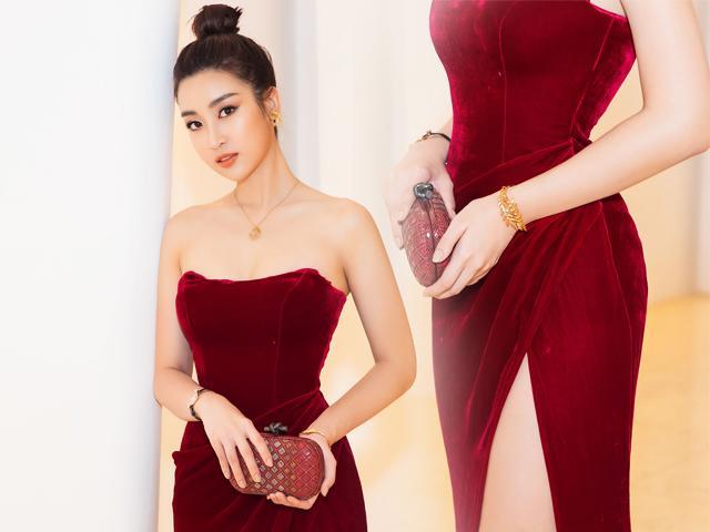 Không còn là Hoa hậu nghèo nhất VBiz, Đỗ Mỹ Linh mang trang sức tiền tỷ thắp sáng thảm đỏ