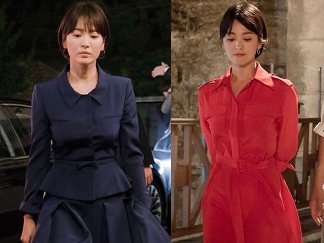 Từ trang phục đến phụ kiện đều đẹp xuất sắc, Song Hye Kyo đang đóng phim hay diễn thời trang?