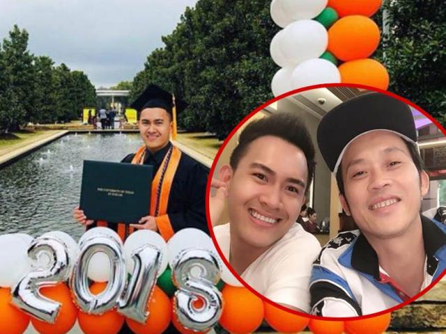 Danh hài Hoài Linh sang tận Mỹ nhận quà sinh nhật đặc biệt của con trai ruột