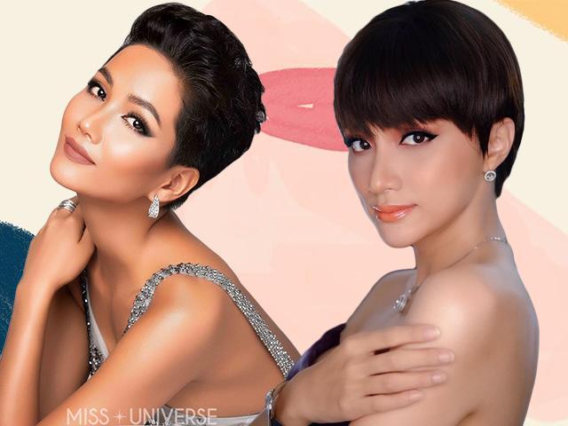 Sao Việt để tóc tomboy: HHen Niê, Hương Giang đẹp xuất sắc, Hari nhìn không nhận ra