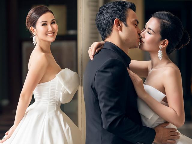 Võ Hạ Trâm tung ảnh cưới đẹp như mơ với ông xã Ấn Độ đẹp trai như tài tử