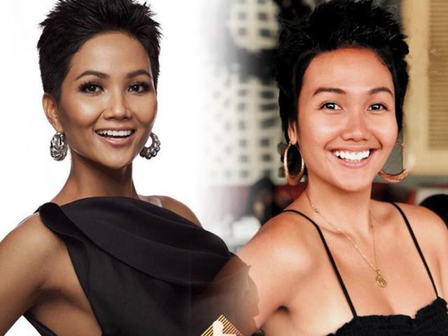 Xuất hiện em gái sinh đôi của HHen Niê, được cả thế giới biết đến vì quá giống Hoa hậu