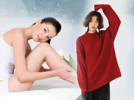 Trị vết thâm gối tại nhà cho chị em Giáng Sinh này diện váy ngắn chẳng còn ngại